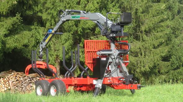Forest-Master Rückewagen RW14 2