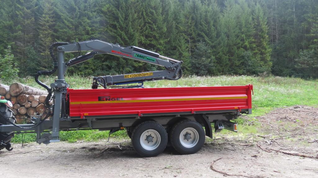 Forst-Tandem-Dreiseitenkipper 8