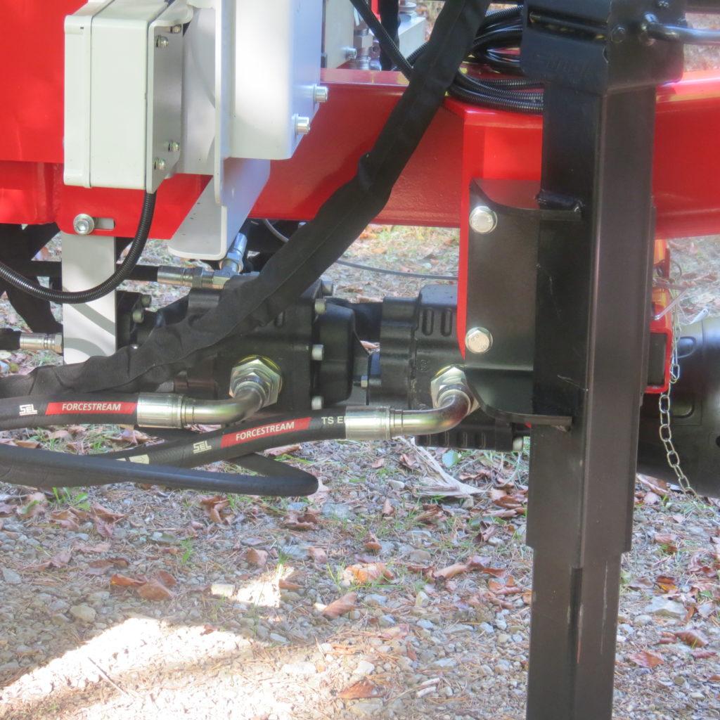 Lancman Holzspalter mit Fahrwerk XLE 32 H XTRM 10