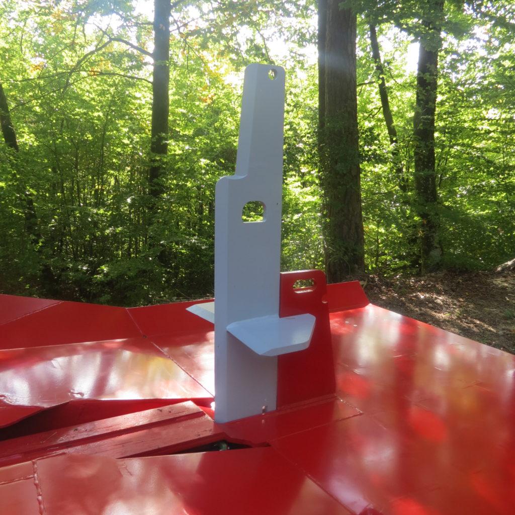 Lancman Holzspalter mit Fahrwerk XLE 32 H XTRM 13