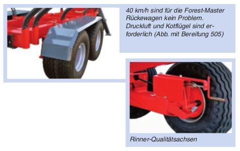 Rückewagen 8