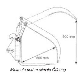 staplergabel mit holzgreifer hg 15 engel forsttechnik. Black Bedroom Furniture Sets. Home Design Ideas