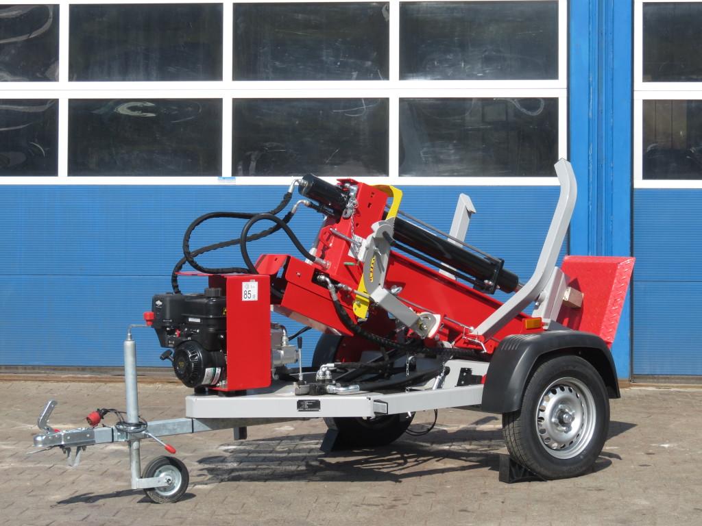 Lancman Holzspalter auf Fahrgestell STAWX17 oder STAWX21 2