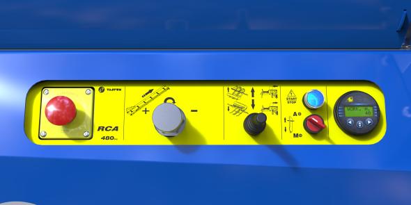 Tajfun Sägespalter RCA 480 Joy - RCA 480 Joy PLUS 17