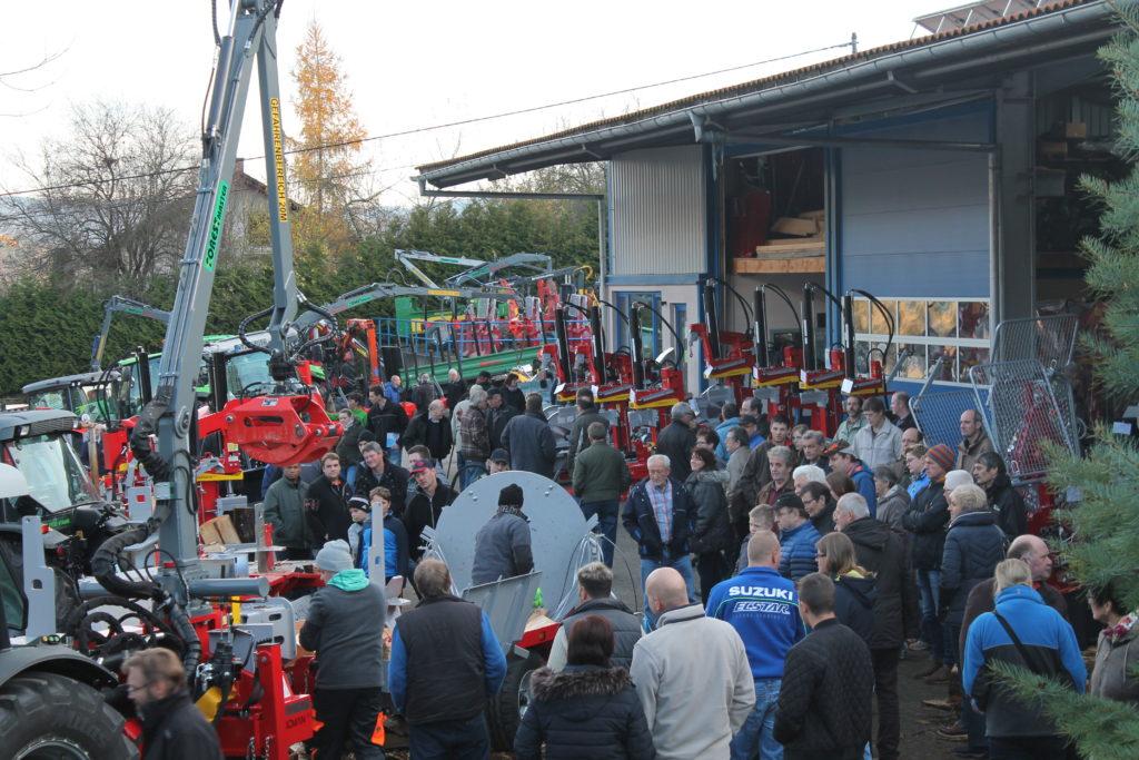 Engel-Forsttage 2016 waren ein voller Erfolg. (Besucherrekord) 2