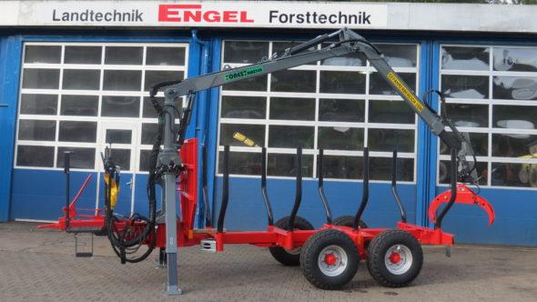 Forest-Master Rückewagen RW8 Eco-Line mit FK5100 1
