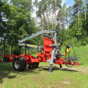 Forest-Master Rückewagen RW11 4