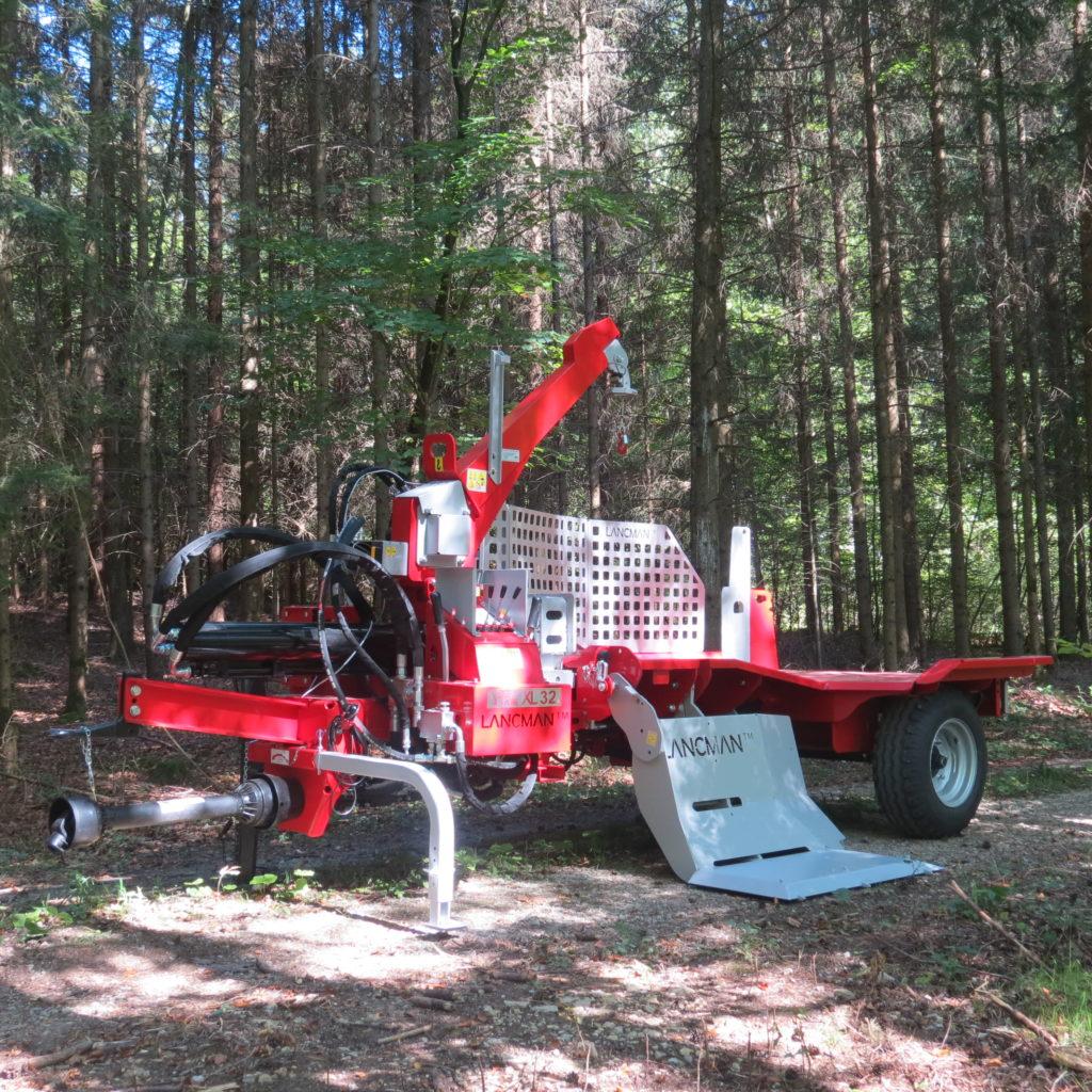 Lancman Holzspalter mit Fahrwerk XLE 32 H XTRM 7