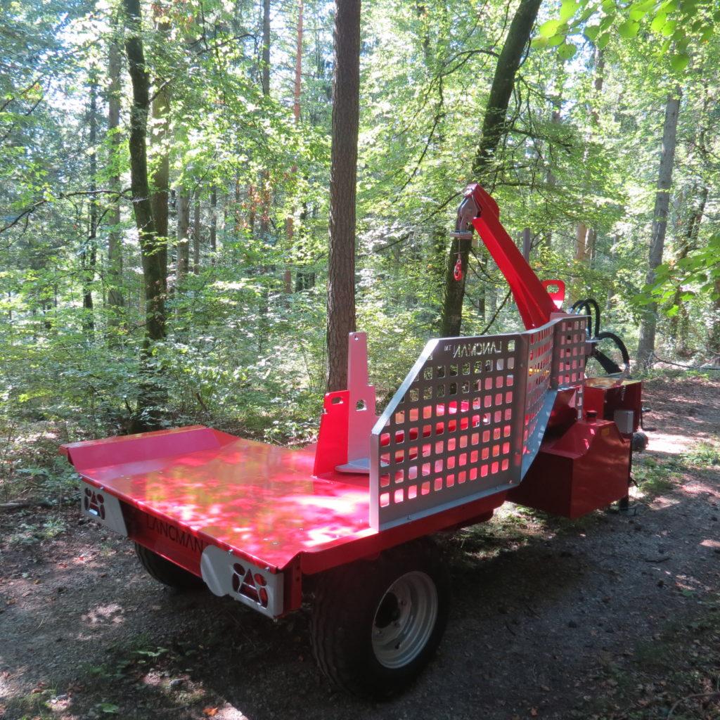 Lancman Holzspalter mit Fahrwerk XLE 32 H XTRM 8
