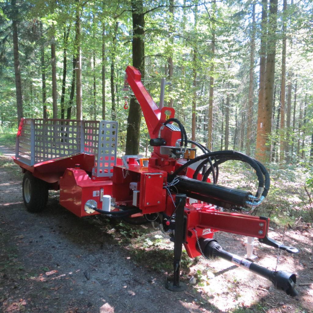 Lancman Holzspalter mit Fahrwerk XLE 32 H XTRM 9