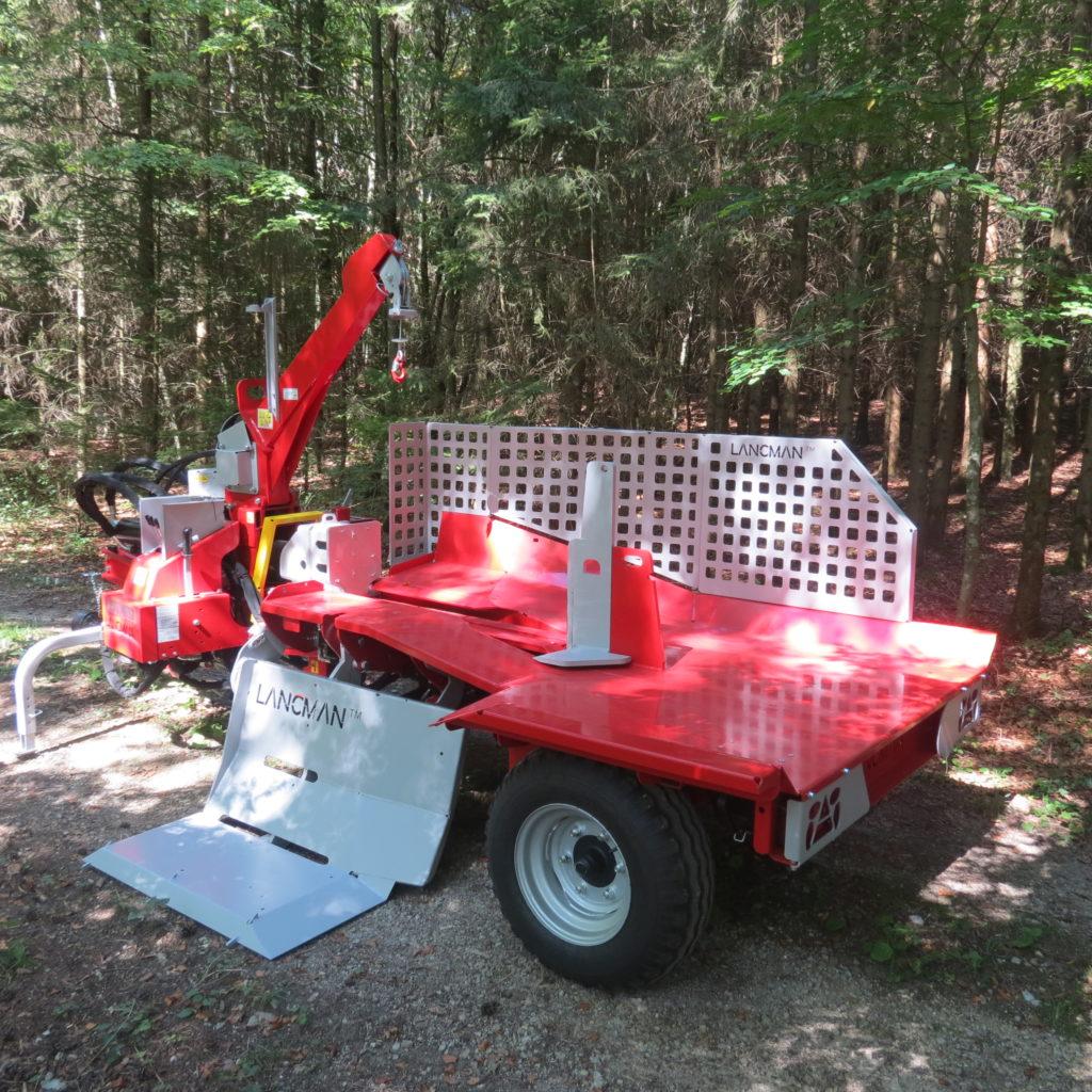 Lancman Holzspalter mit Fahrwerk XLE 32 H XTRM 6
