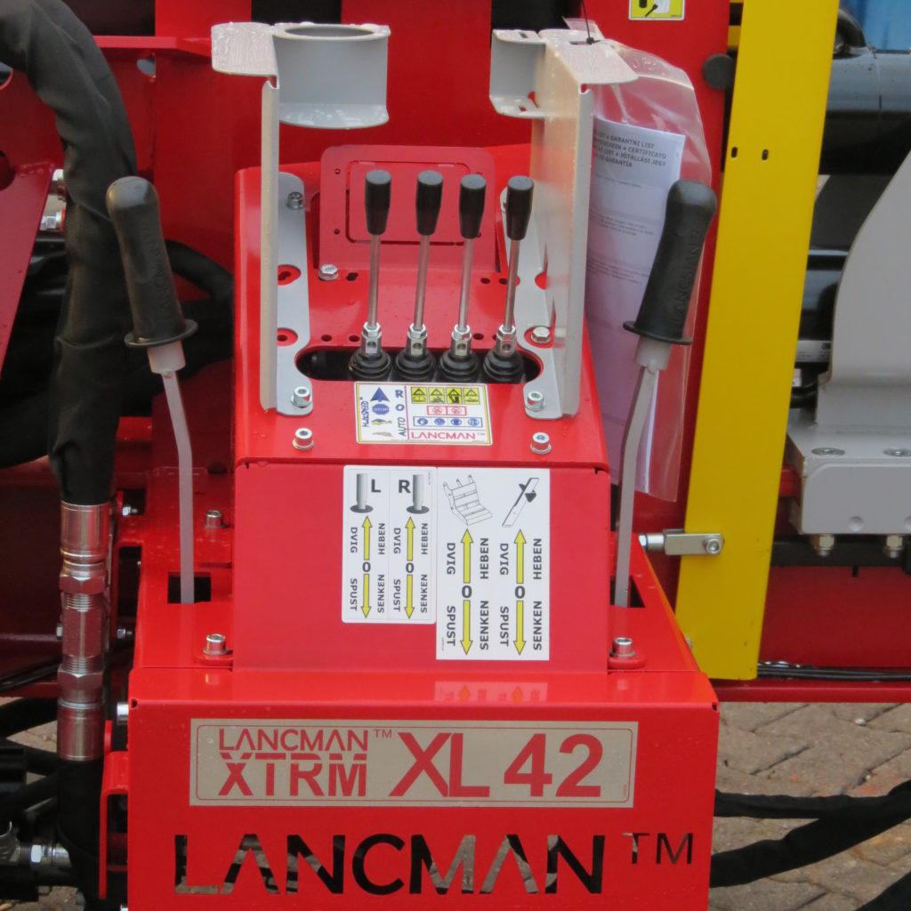 Lancman Holzspalter mit Fahrwerk XLE 42 XTRM 5