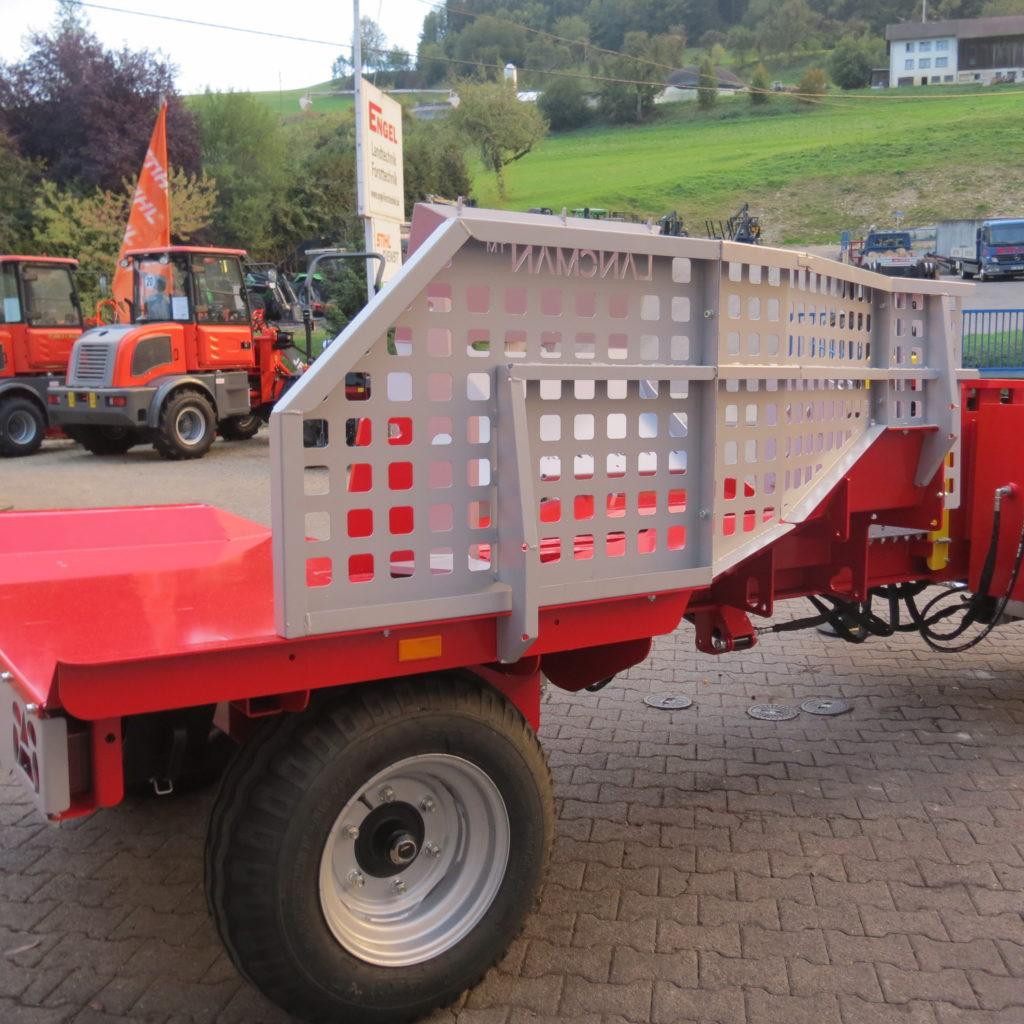 Lancman Holzspalter mit Fahrwerk XLE 42 XTRM 3