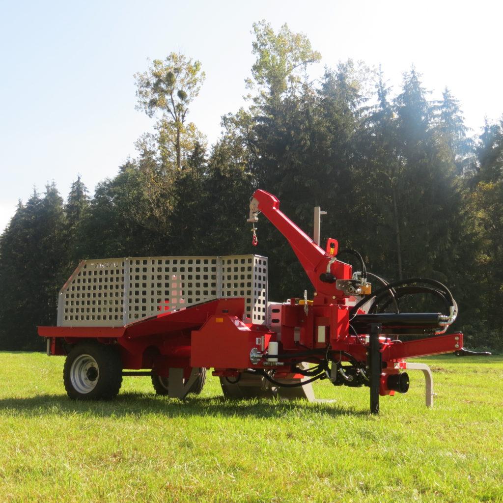 Lancman Holzspalter mit Fahrwerk XLE 32 H XTRM 4