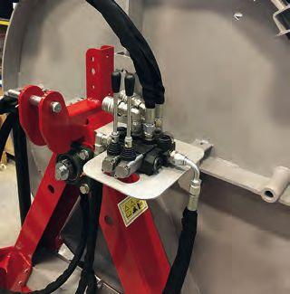 Lancman Bündelgerät 3003 mit hydraulischer Vorspanneinrichtung 3