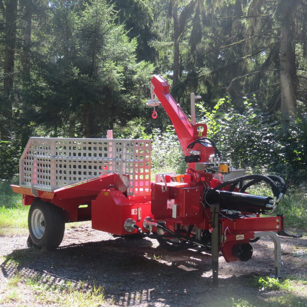Lancman Holzspalter mit Fahrwerk XLE 32 H XTRM 3