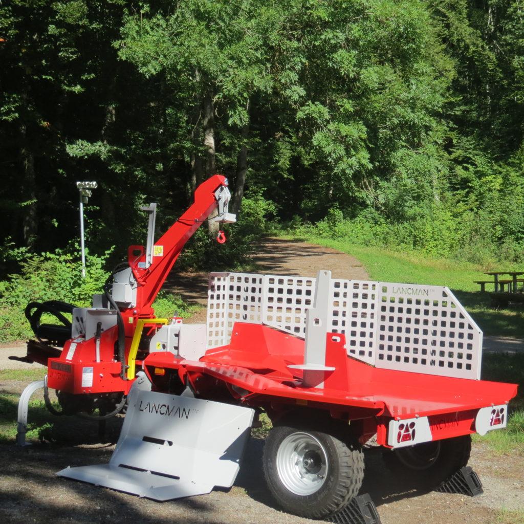Lancman Holzspalter mit Fahrwerk XLE 32 H XTRM 1