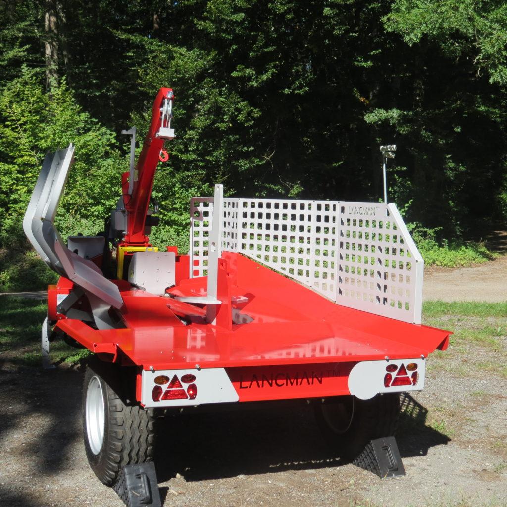 Lancman Holzspalter mit Fahrwerk XLE 32 H XTRM 2
