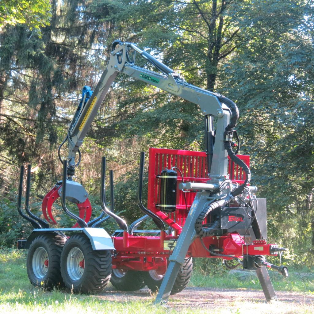 Forest-Master Rückewagen RW16 4