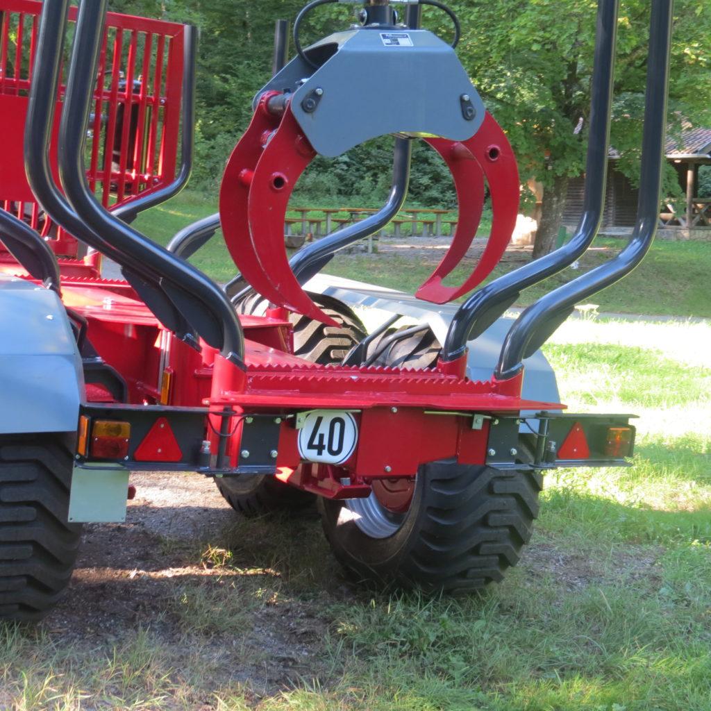 Forest-Master Rückewagen RW16 13