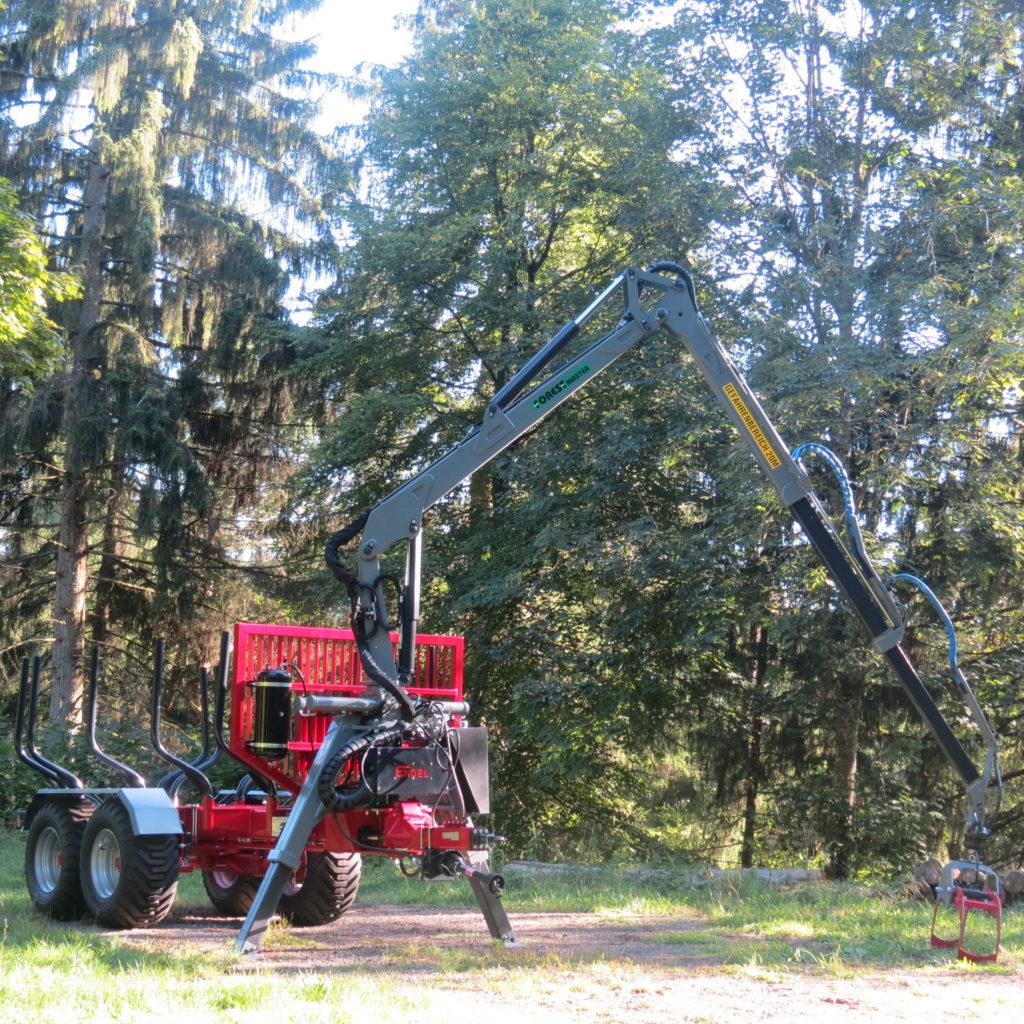 Forest-Master Rückewagen RW16 2
