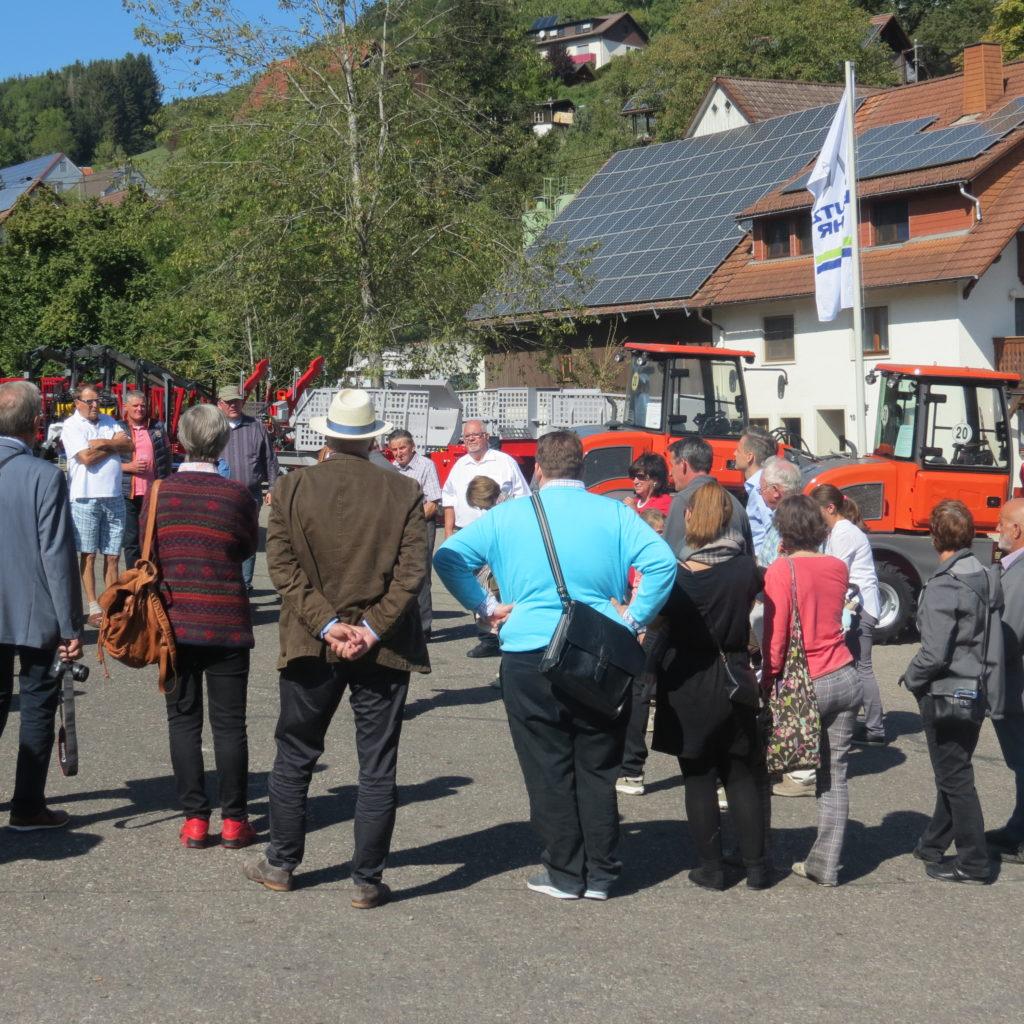 FDP-Südbaden zu Besuch bei Engel - Forsttechnik 2