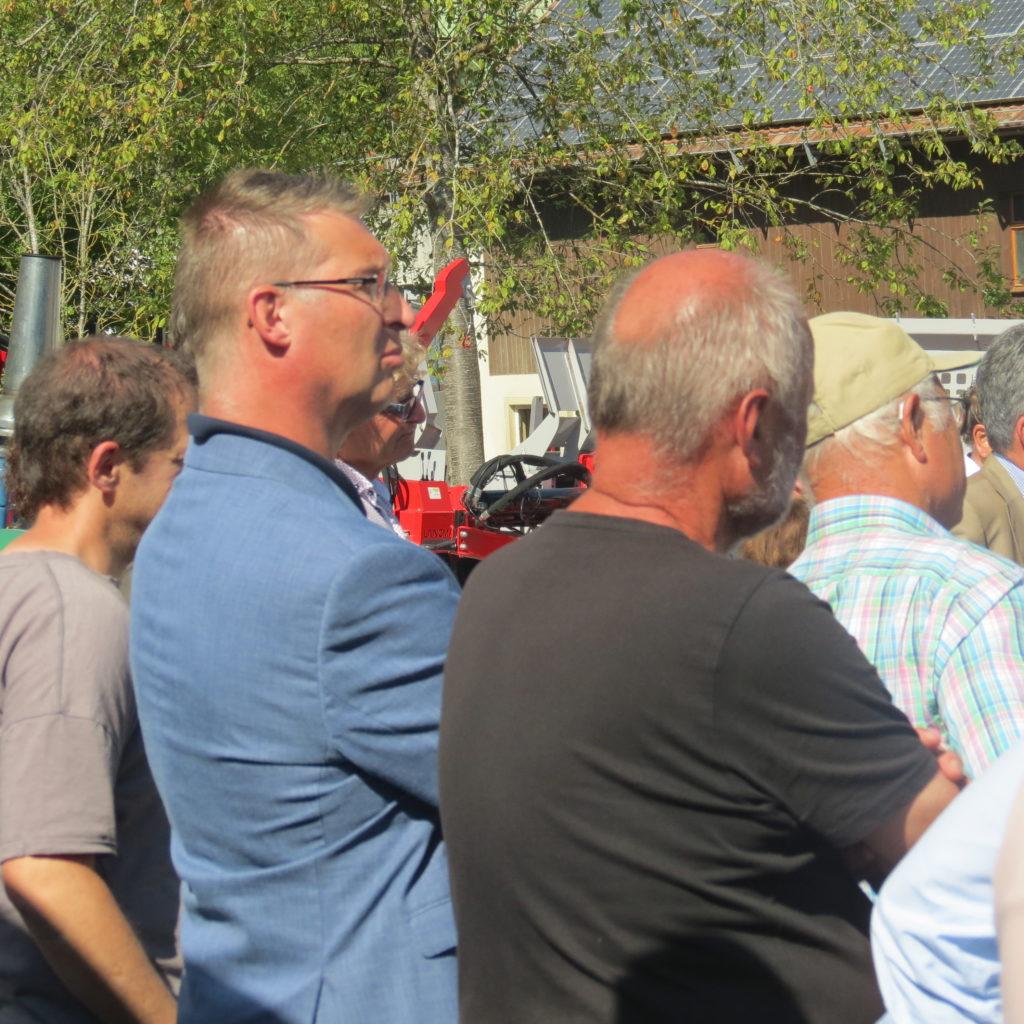 FDP-Südbaden zu Besuch bei Engel - Forsttechnik 3