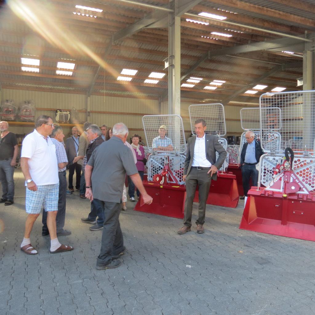 FDP-Südbaden zu Besuch bei Engel - Forsttechnik 7