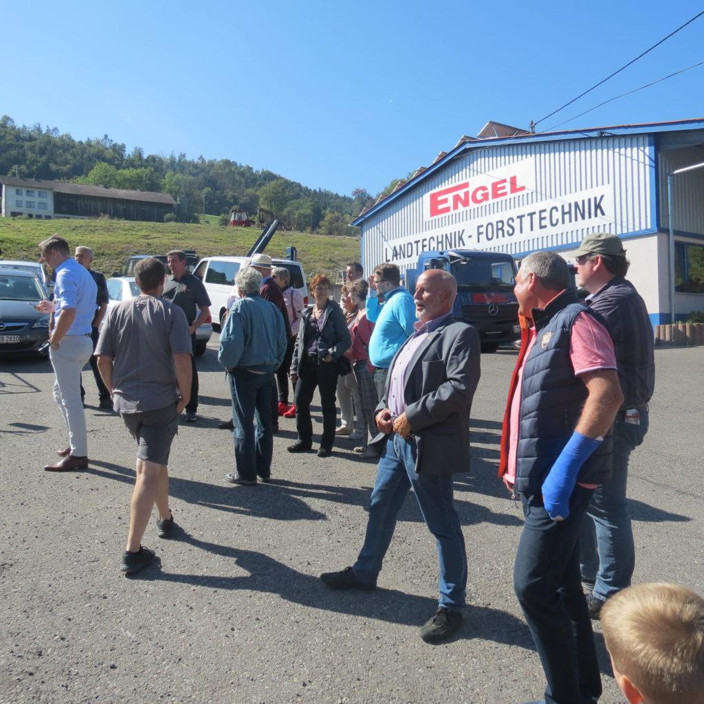FDP-Südbaden zu Besuch bei Engel - Forsttechnik 9