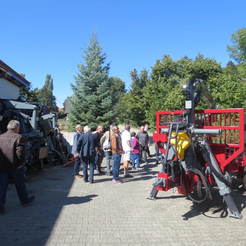 FDP-Südbaden zu Besuch bei Engel - Forsttechnik 10