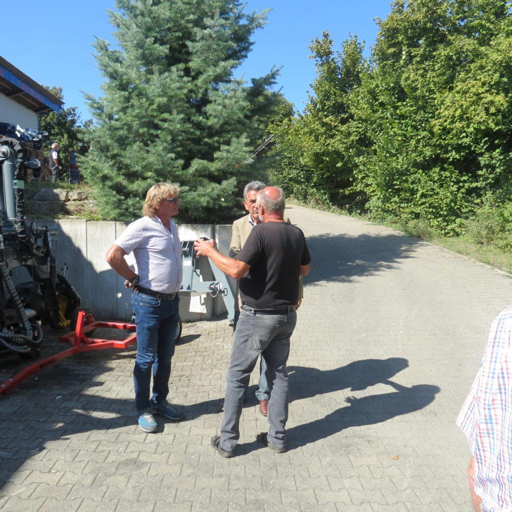 FDP-Südbaden zu Besuch bei Engel - Forsttechnik 11
