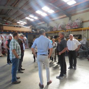 FDP-Südbaden zu Besuch bei Engel - Forsttechnik 12