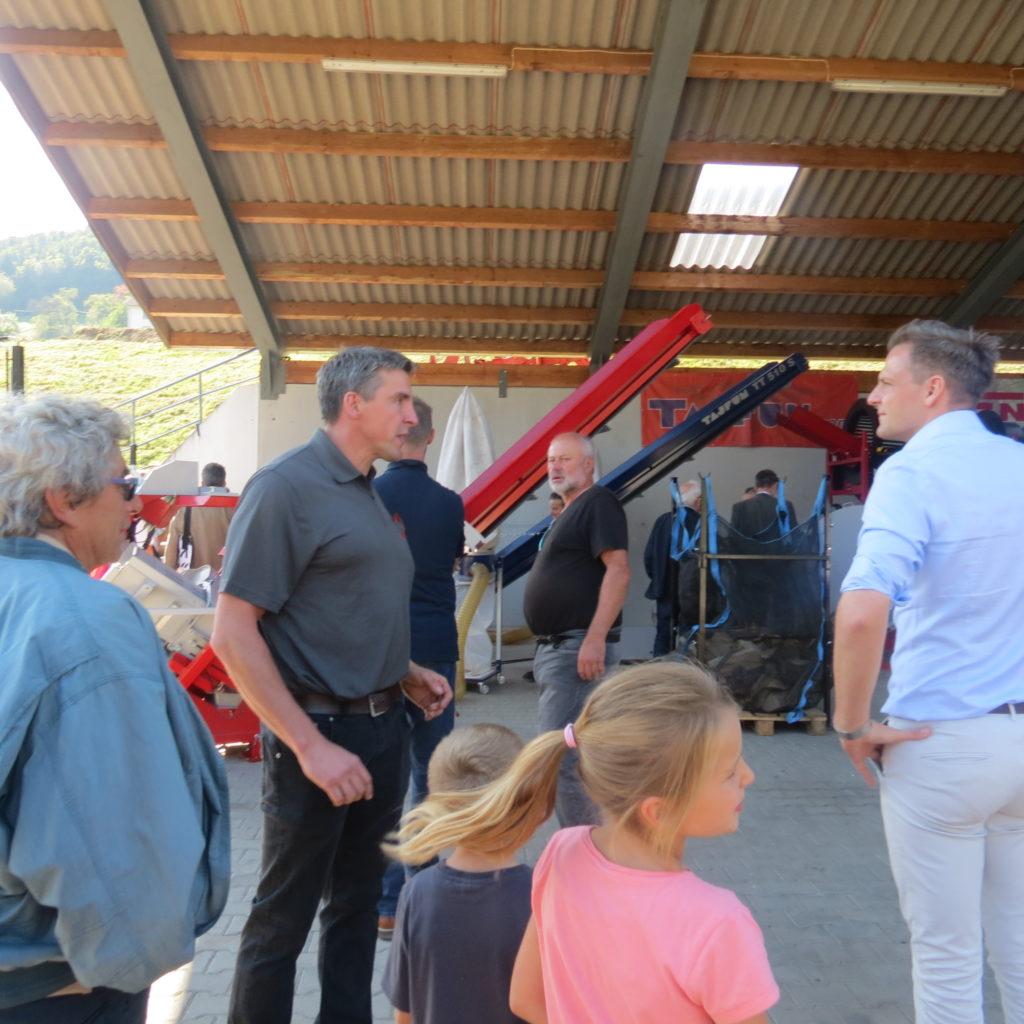 FDP-Südbaden zu Besuch bei Engel - Forsttechnik 14