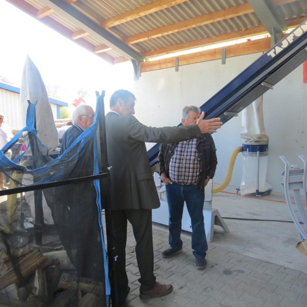 FDP-Südbaden zu Besuch bei Engel - Forsttechnik 15