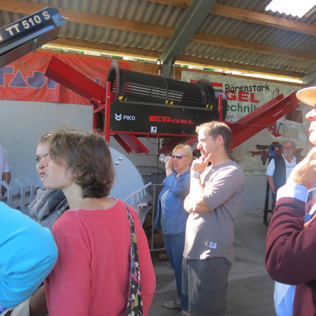 FDP-Südbaden zu Besuch bei Engel - Forsttechnik 18