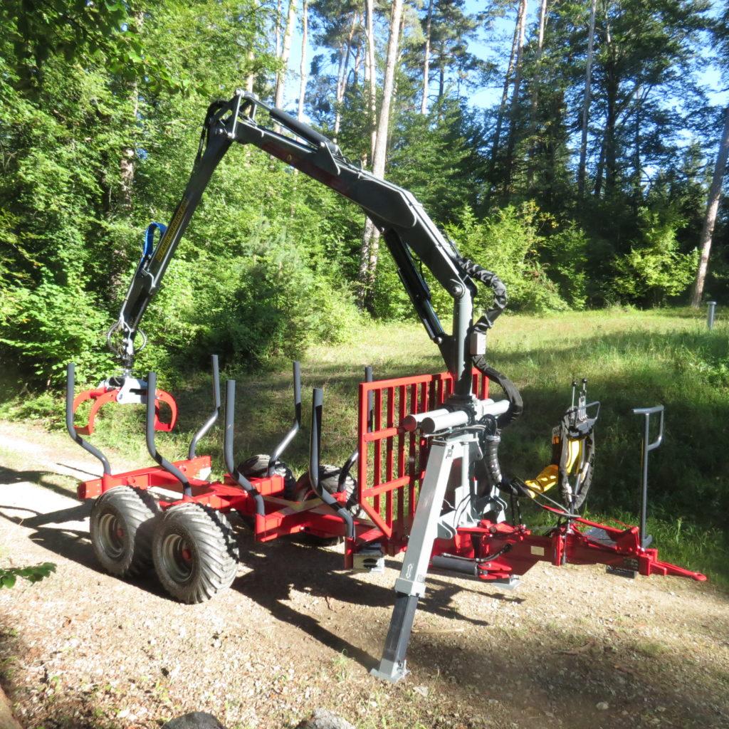 FOREST-MASTER RÜCKEWAGEN RW8 ECO-LINE MIT FK6600 4