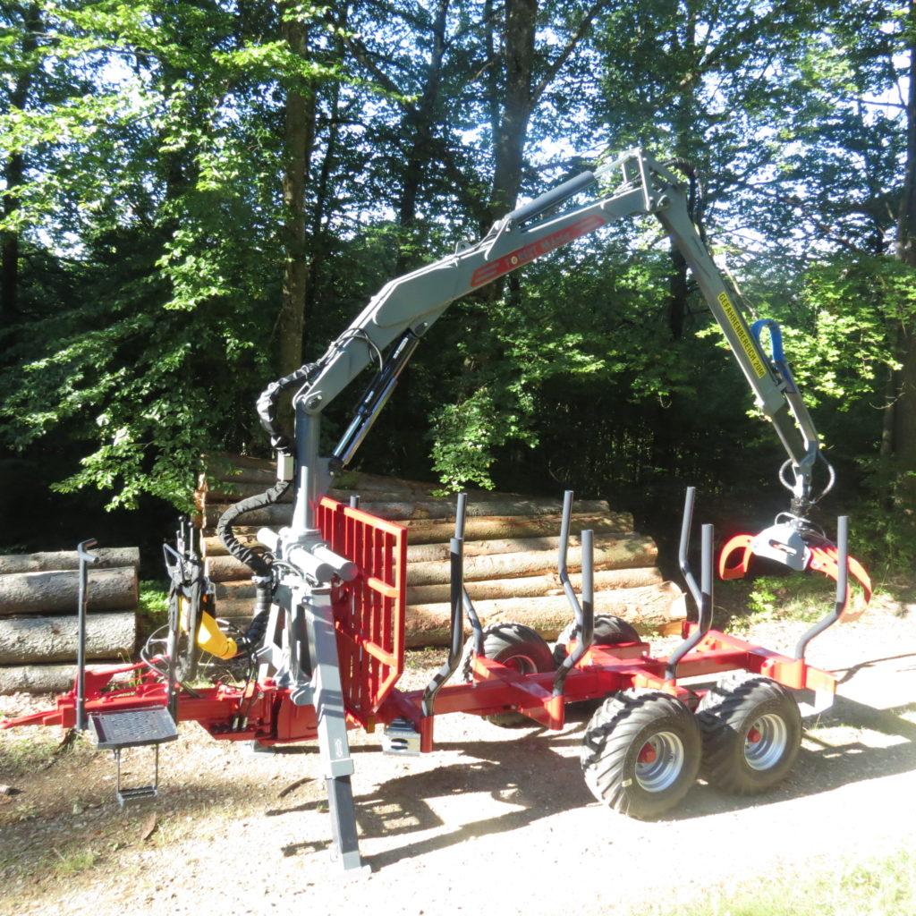 FOREST-MASTER RÜCKEWAGEN RW8 ECO-LINE MIT FK6600 3
