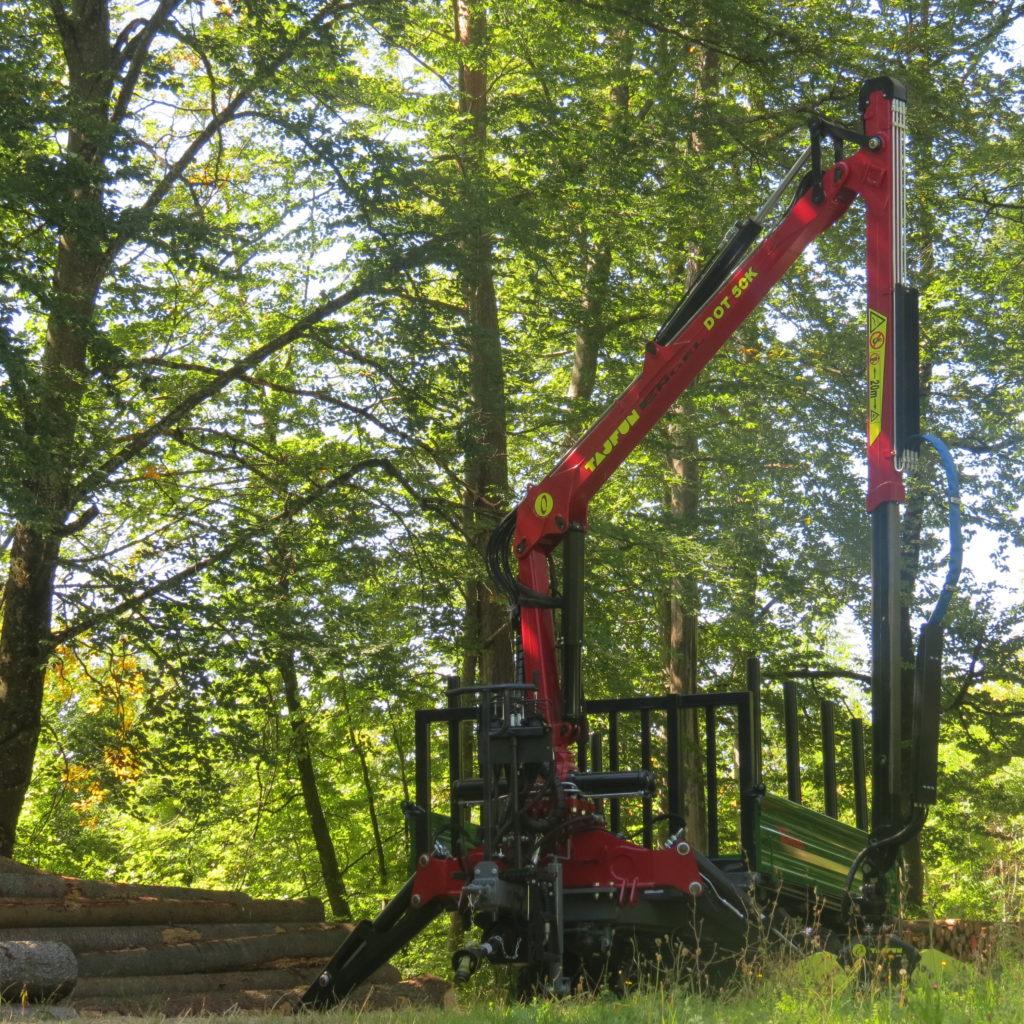 Forst-Dreiseitenkipper EDK 90 5