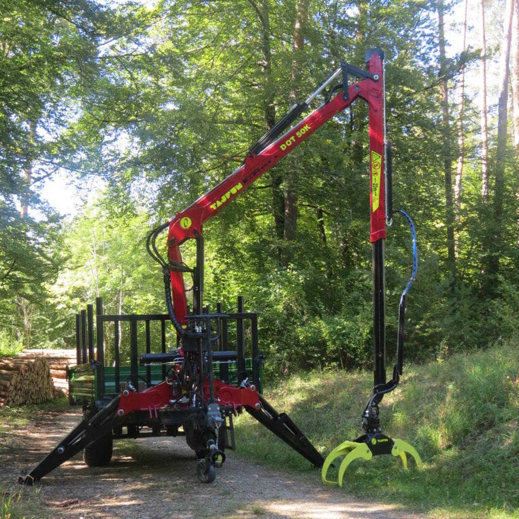 Forst-Dreiseitenkipper EDK 90 7