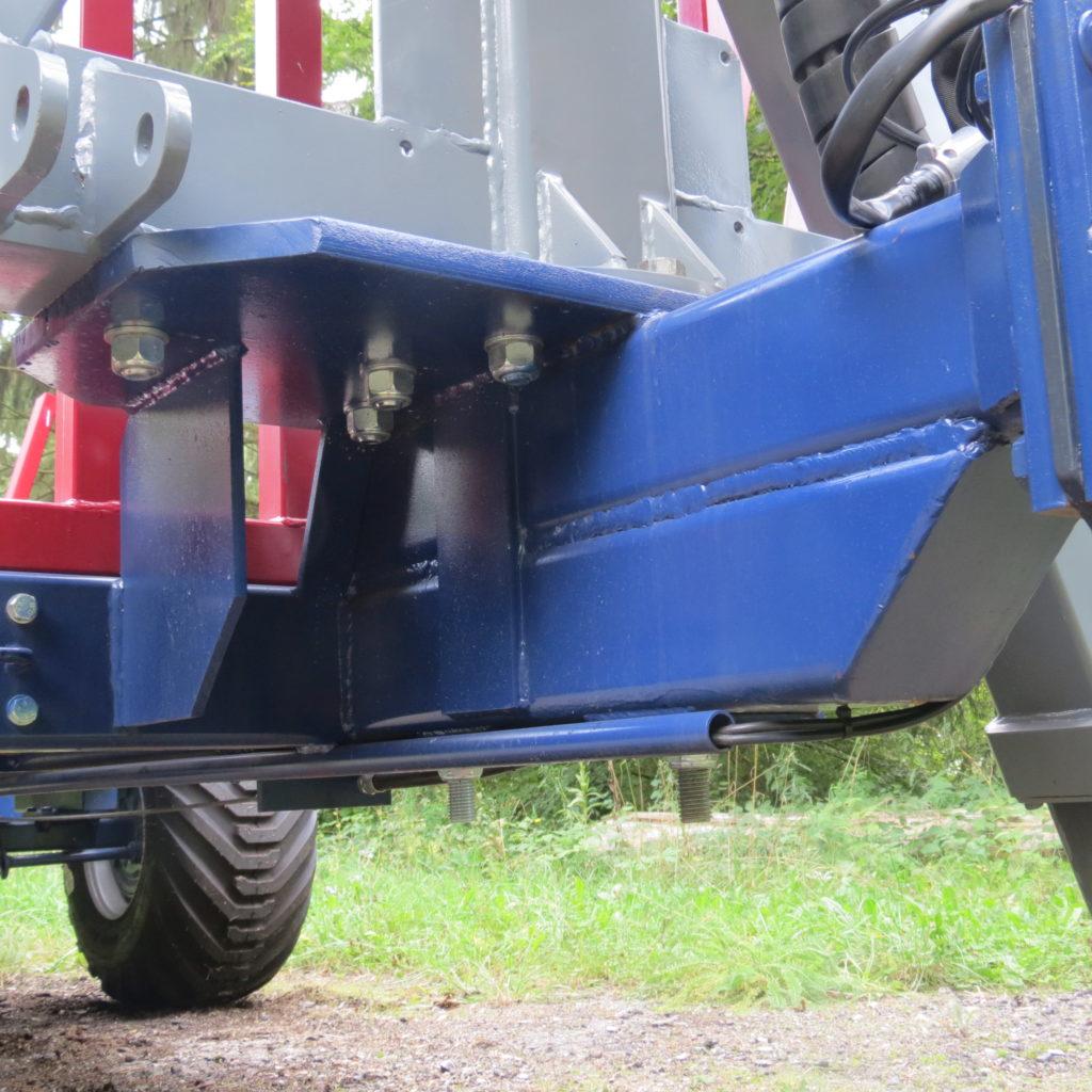 Einachs-Rückewagen ERW 6 mit FK 6100 1