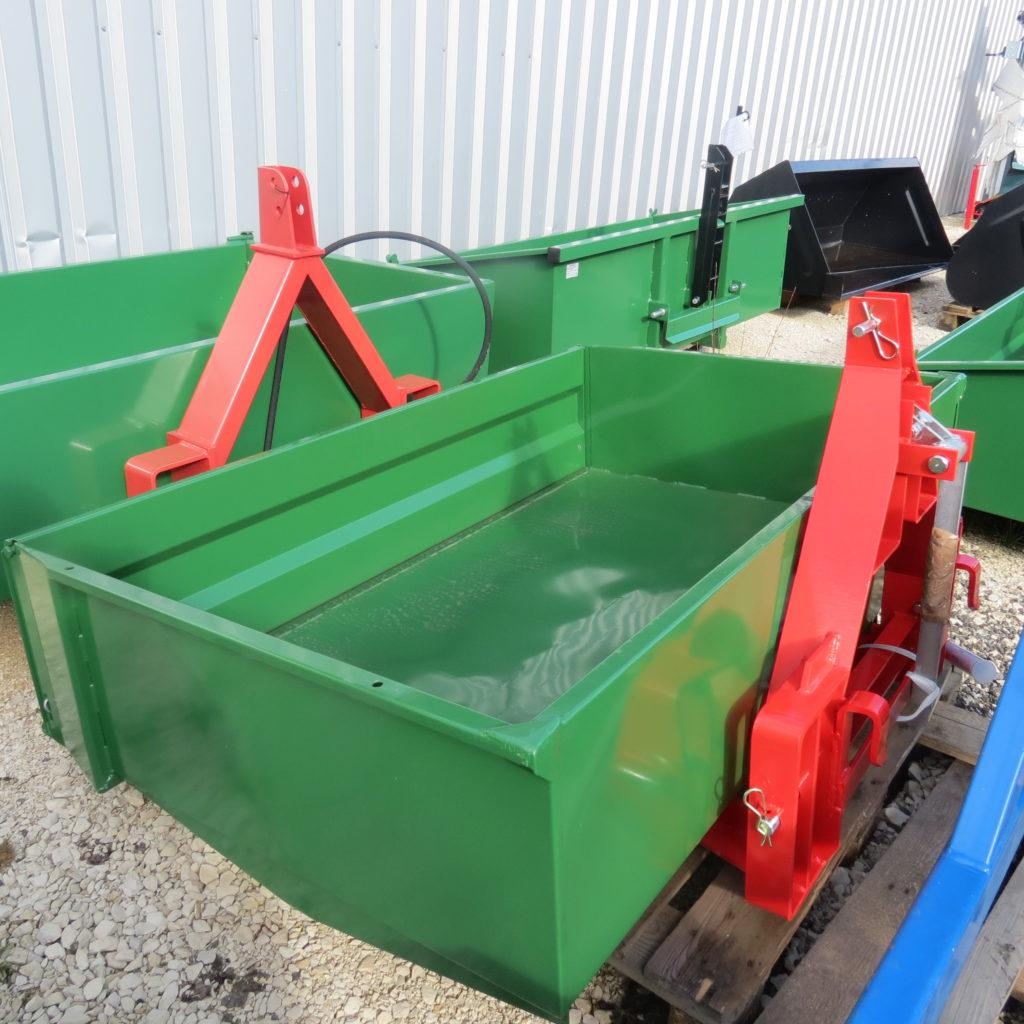 Heckcontainer mechanisch kippbar 1