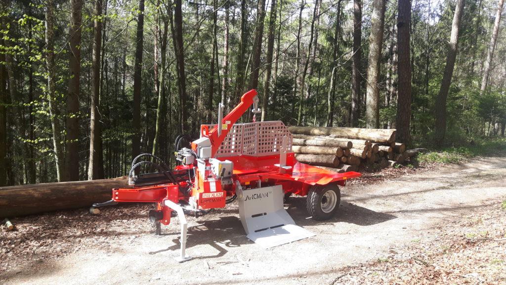 Lancman  Holzspalter auf Fahrwerk XLA 26 XTRA 3
