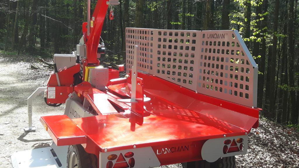 Lancman  Holzspalter auf Fahrwerk XLA 26 XTRA 5