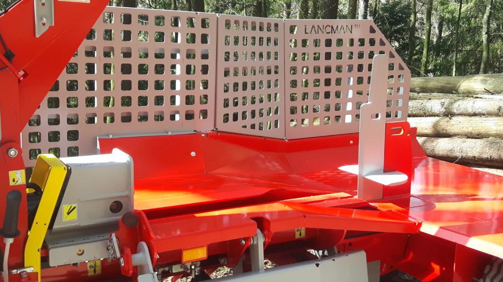 Lancman  Holzspalter auf Fahrwerk XLA 26 XTRA 6