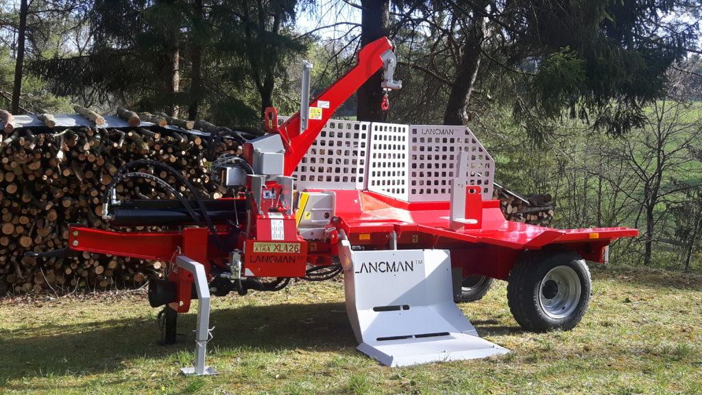 Lancman  Holzspalter auf Fahrwerk XLA 26 XTRA 17