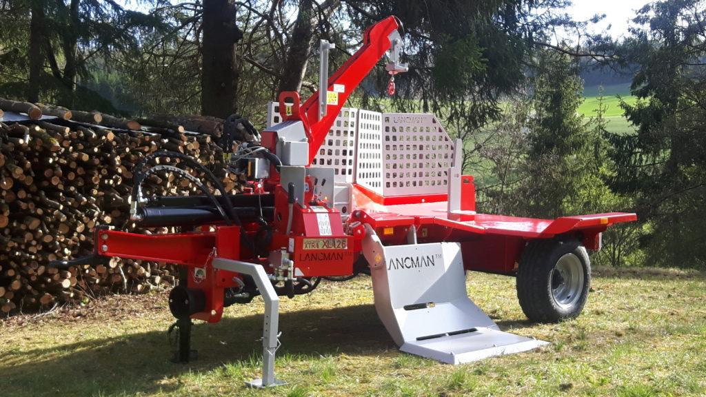 Lancman  Holzspalter auf Fahrwerk XLA 26 XTRA 4