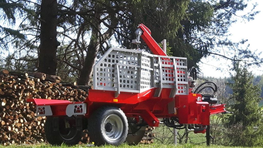 Lancman  Holzspalter auf Fahrwerk XLA 26 XTRA 15