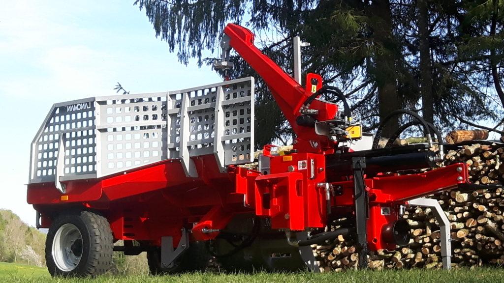 Lancman  Holzspalter auf Fahrwerk XLA 26 XTRA 16