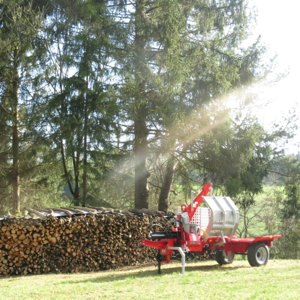 Lancman  Holzspalter auf Fahrwerk XLA 26 XTRA 2