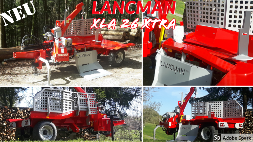 Lancman  Holzspalter auf Fahrwerk XLA 26 XTRA 1